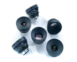 Zeiss Compact Prime CP.2 6-Lens Basic set