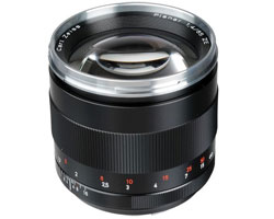 Zeiss SLR Lenses 85mm
